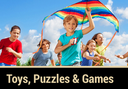 Toys, Puzzles & Games