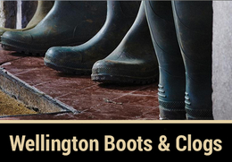 Wellington Boots & Garden Clogs